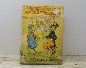 Uncle Wiggily and the Littletails, 1942, Howard R Garis, Platt and Munk, vintage kids book