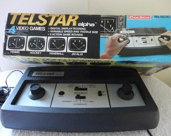TELSTAR COLECO PONG Video Game - Vintage T.V. Video Game