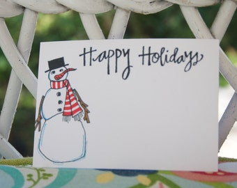 Happy Holidays - Christmas gift tags