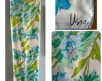 Vera Neumann floral scarf