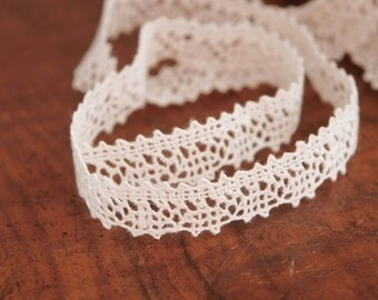 Natural linen lace Linen lace for sewing Crochet linen lace Linen lace White linen lace 1.5 cm wide
