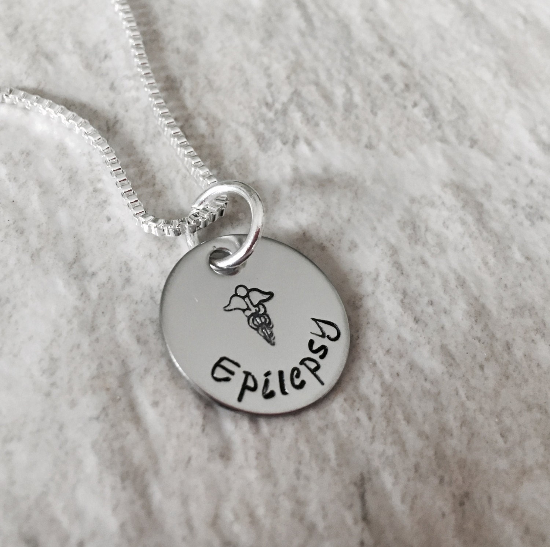 Medic Alert Necklace: Personalized Medical Alert Necklace Diabetes Epilepsy Medical