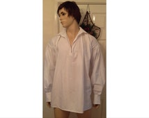 Mens pure cotton Regency Shirt Custom made to order in size & fabrics