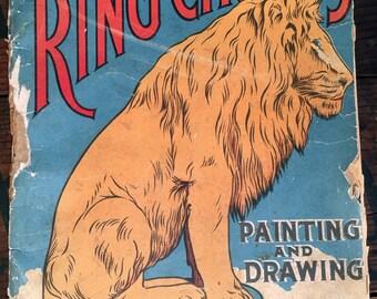 Antique Circus Children's Books, Activities Books