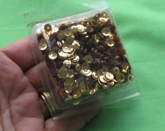 Package Of Gold Colored Sequins