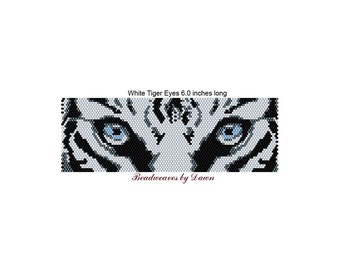 Peyote Bracelet Patterns, Beading Instructions, White Tiger eye peyote, Tiger Eyes, Bead Patterns, Beadwork Patterns, Peyote Stitch patterns