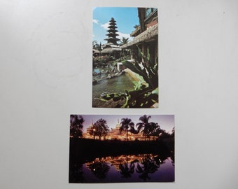 Vintage 1980's Walt Disney World Magic Kingdom Postcards