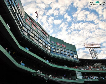 Boston Red Sox Photography / Massachusetts Photography / Wall Art / Baseball Home Decor / Fenway Park; Home of the Boston Red Sox