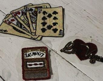 Vintage Vegas Sequin Appliques, Las Vegas Bead and Sequin Appliques