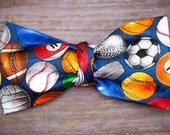 kids Sports clip on bow tie