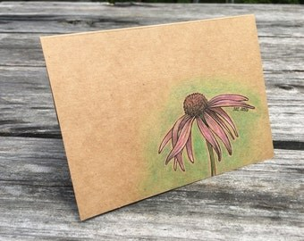 Floral - Hand Drawn Greeting Card