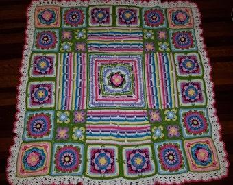 Crochet blanket/afghan/throw