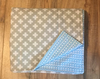 Geometric Baby Blanket