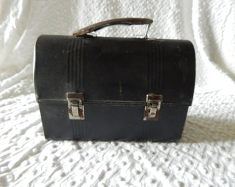 Great Vintage Metal Lunch Box
