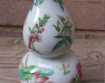 Vintage Chinese Gourd Vase