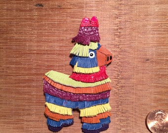 Mexican Piñata Pin/Brooch