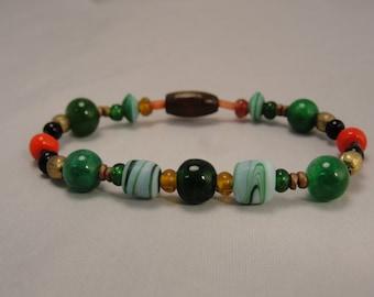 Earthly Being Beaded Bracelet