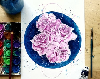 Spring in Space - Art Print
