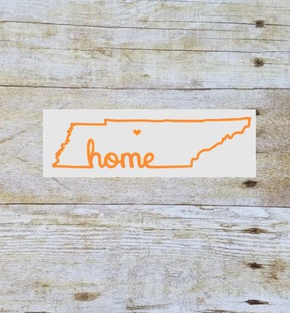Tennessee Decal Yeti Tumbler Decal State By Southernanchorshop