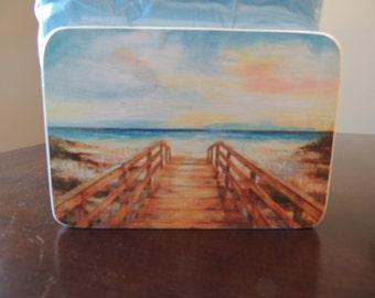 Walk to the Beach Napkin Holder