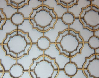 Dolls House 12th scale Very Ornate Ceiling Panel 37cm x 32cm DHD CP077