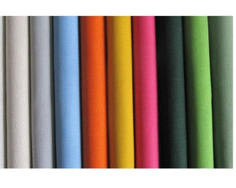 "CANVAS Zweigart 14 count interlock in various colours - Fat quarter (20""x20"")"