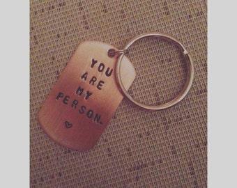 Grey's Anatomy - You are my person - keychain
