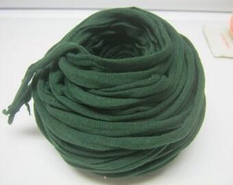 50 FEET DARK GREEN Tshirt Yarn