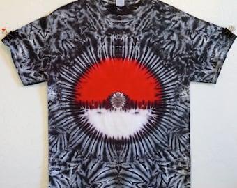 Pokemon Tie Dye T-Shirt!