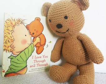 Teddy Bear Pattern - I Love You Through and Through