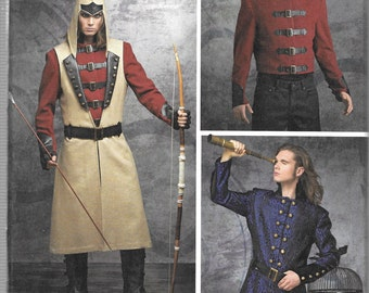 Simplicity Pattern 8235 ARKIVESTRY COSPLAY COSTUMES Men's Sizes 46 48 50 52