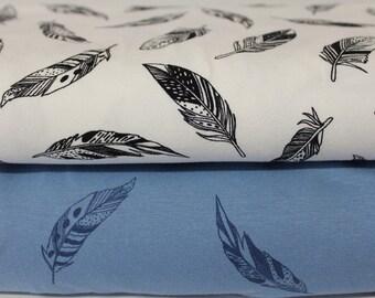 Fabric Jersey Spring 1 meter