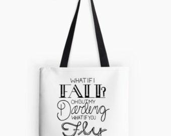 What If I Fall? - Tote Bag