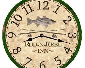 White Bass Clock