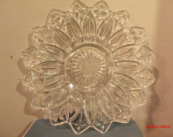 Crystal Serving Platter