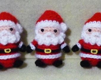 Santa Claus Amigurumi - S Size