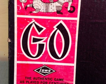 Vintage Go Board Game