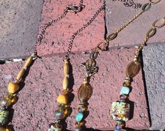Autumn breeze necklaces