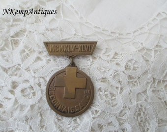 Old military brooch