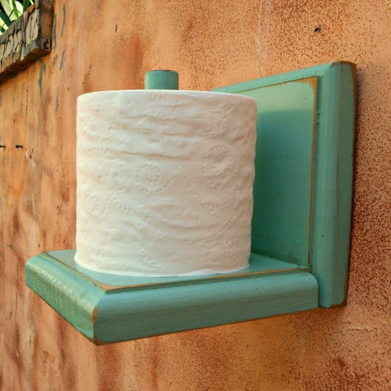 Toilet paper holder rustic wood tissue by robsrusticcreations Wood toilet paper holders