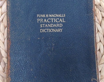 Funk & Wagnall Practical Standard Dictionary