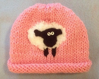 Custom Baby Sheep Hat