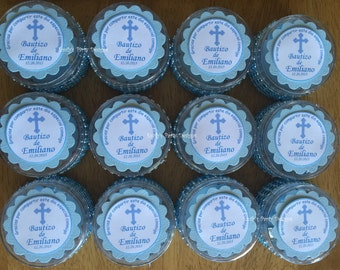 Baptism Favors, First Communion , Christening Favor or any religious event. (Price is per one dozen)