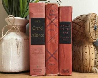 Vintage Red Books