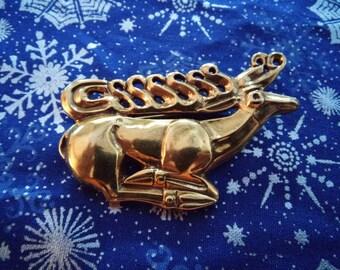 Scythian stag brooch