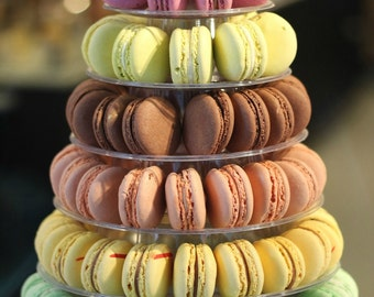 French Macaron Tower with 238 French Macarons!