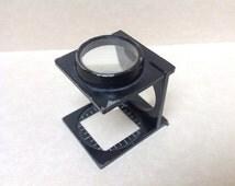 1960s Folding Pocket Loupe/Magnifier.