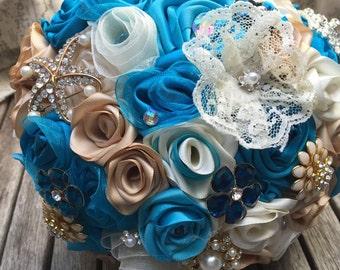 Ribbon Rose Bouquet