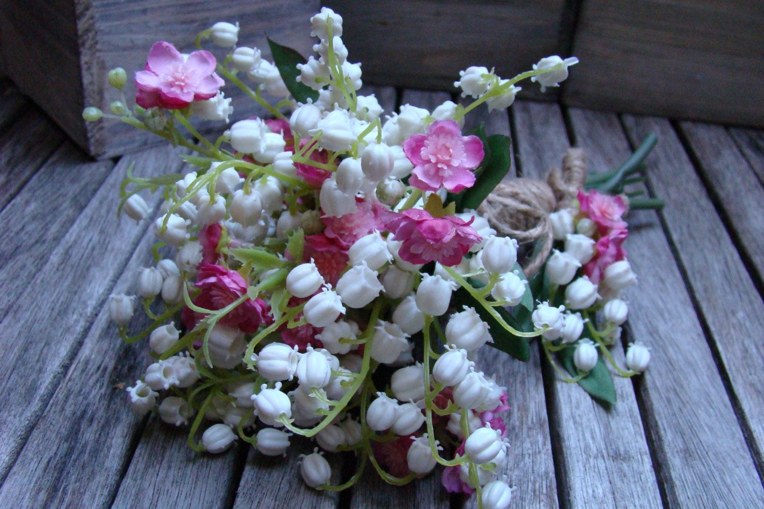 Lily Of The Valley Wedding Bouquet: Bouquet Wedding Bouquet Lily Of The Valley Cherry Blossom