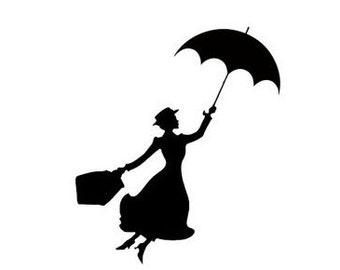 Mary Poppins Disney Magic Band Decal | Disney Decal | Disney Mary Poppins Sticker | Disney Magic Band Mary Poppins Vinyl Decal  Disney